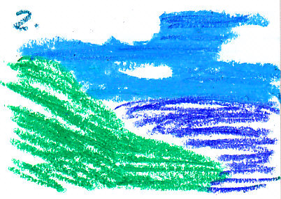 Grass Texture example two, how not to draw grass textures.