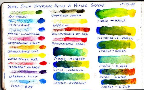 Daniel Smith Watercolor Sticks