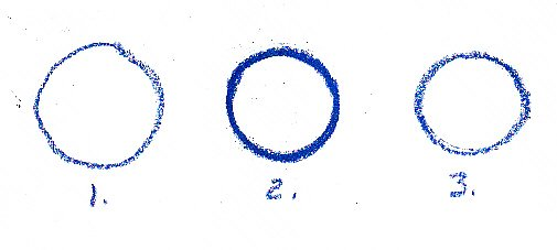 line, circles, freehand circle, template, round