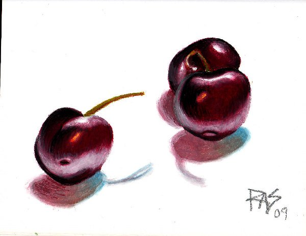 Three Cherries by Robert A. Sloan