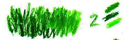 Grass texture in three values, light, medium and dark.